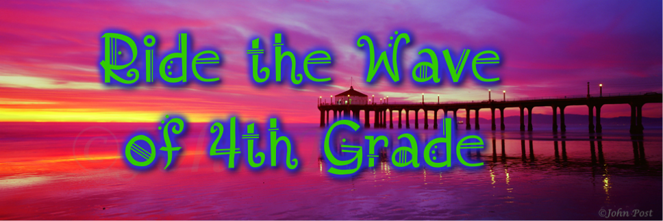 Ride The Wave of Fourth Grade